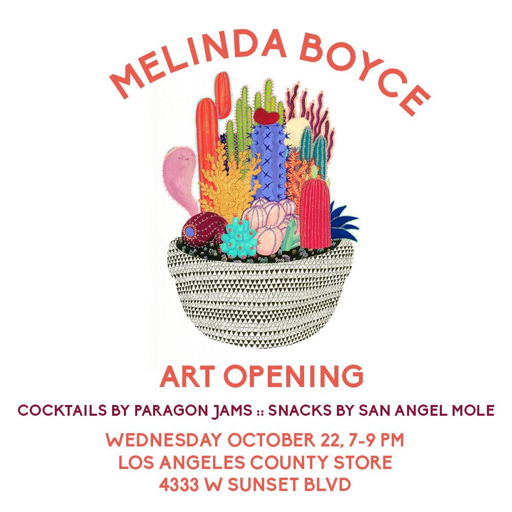 melinda boyce opening
