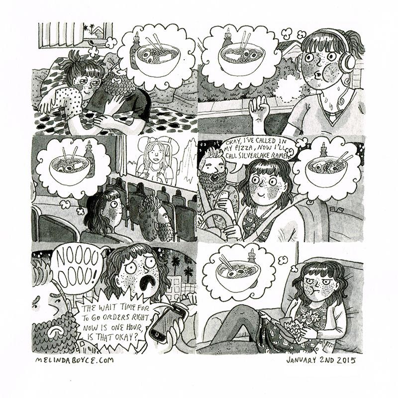 tonkatsu ramen melinda boyce diary comic