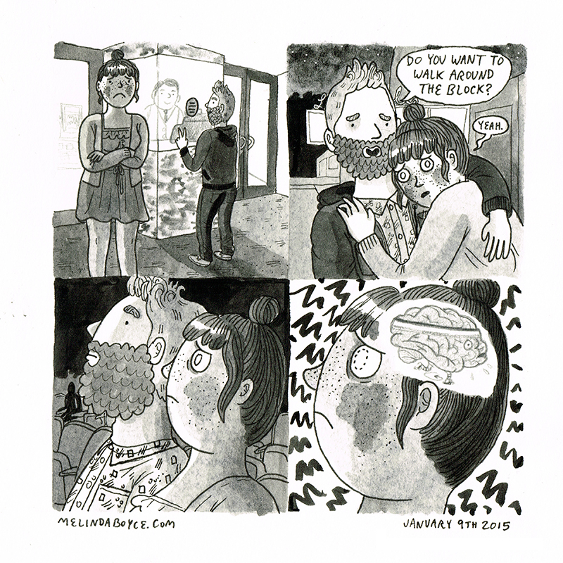 anxiety diary comic melinda tracy boyce